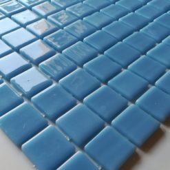 Mosaïque bleue piscine