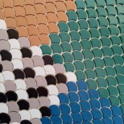 Mosaique ecaille