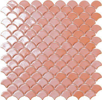 M² Mosaïque Écailles orange