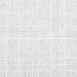 M² Mosaïque Impression carrara gris mat