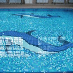 Dessins, bordures et frises pour piscine
